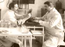 Victor Babeş la Inst. de Patologie şi Bateriologie Bucureşti