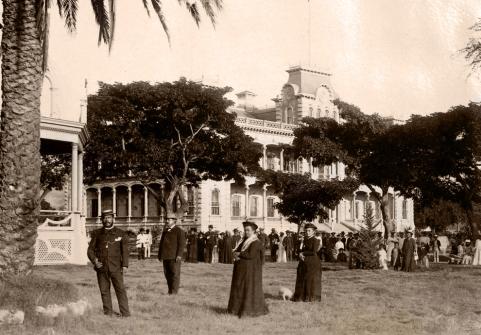 iolani palace honolulu 1888
