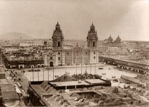 Plaza de Armas de Lima 1868