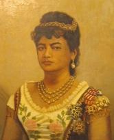 Princess Poomaikelani painted by Paul Petrovits in 1885