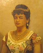 Princess Poomaikelani painted by Paul Petrovits in 1885